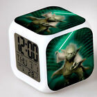 Star Wars Change Glowing LED Night Light Alarm Clock Christmas Gift Bedroom KIDS