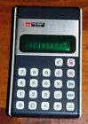 VTG Sharp EL-8116 ELSI MATE Electronic Calculator with Aqua Fluorescent Display