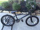"Haro X1 20"" Freestyle/BMX dirt bike-- Black"