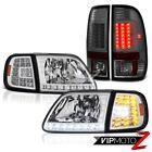 97 98 99 00 01 02 03 Ford F150 Headlights D.R.L Corner Lamp Parking Tail Lights