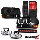 CCFL Projector Headlight Tail Lights LED FogLights 3rd Brake 2000-2006 Yukon SLE