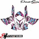*NEW* SLED GRAPHIC KIT GRAPHICS WRAP FOR SKI-DOO REV XR 1200 2009-2012 xr0005