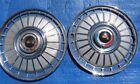 "1962 Ford Galaxie & Fairlane 14"" Wheel Cover Hubcap SET (2) 62 Driver"