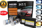 HID H11 H8 H9 Conversion Kit All Color Xenon Headlight Replacement Light Bulbs