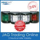 24V SIDE MOUNT LED NAVIGATION LIGHT SET-Port/Starboard/Stern/Masthead-Boat/Yacht