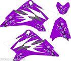 Girls Yamaha TTR 50 Graphics Decal Sticker Kit TTR50 Purple Flower 2006-2012