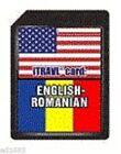 SD Card English - Romanian C-4ERm - ECTACO Partner C-4