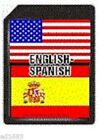 SD Card English - Spanish C-4ES for ECTACO Partner C-4