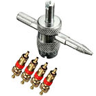 1PC Auto Car Automobile Tire Repair Tool Four In One Tool Set Valve Core Driver