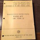 ARC TYPE 12 Radio Set  Service Manual