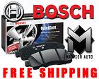 Disc Brake Pad Set-EuroLine Brake Pads Front Bosch 0986490640