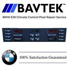 BMW E38 740i 740il 750i 750il Climate Control Display Pixel Repair Service