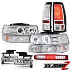 99-02 Silverado LT Tail Lamps Headlamps Roof Cab Lamp Signal Light Fog Lights