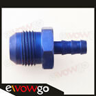 AN-10 10AN AN10 To 8mm Barb Straight Fitting Fuel Line Blue