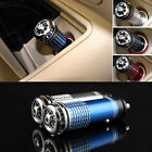4 Colors Mini Auto Car Fresh Air Ionic Purifier Oxygen Bar Ozone Ionizer Cleaner
