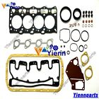 4LE1 Full overhaul Gasket kit set For ISUZU engine Hitachi EX55 ZX55 Excavator
