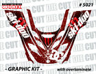 99-03 SKI DOO SNOWMOBILE ZX SK SLED  WRAP GRAPHICS KIT DECAL STICKERS 5021