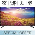 """JVC 55"""" inch 1080p FULL HD 60Hz LED LCD TV FHD w/ 3 HDMI LT-55EM76 - NEW!"""