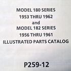 1953-1962 Cessna 180 and 182 Parts Manual