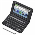 Casio EX-Word English Electronic Dictionary XD-G9800BK Black Learn Japanese