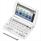 Casio EX-Word English Electronic Dictionary XD-G9800WE White Learn Japanese