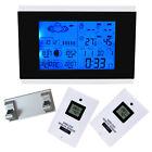 Wireless Sensors Weather Station Digital Outdoor Temperature Humidity Barometer