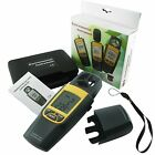 Digital 2 in 1 Anemometer Thermometer Check 4000 fpm Wind Speed Velocity mph m/s