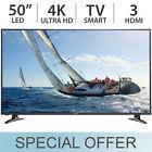"Panasonic 50"" Inch 4K ULTRA HD 2160p LED Smart TV w/ 3 HDMI TC-50CX400U - NEW"