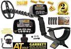 Garrett AT Gold Nugget Metal Detector 100% Water Submersible Free Land Phones