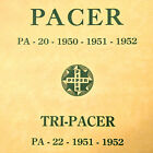 1950, 1951, 1952 Piper Pacer PA-20 & 1951, 1952 PA-22 Tri-Pacer Parts Manual