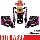 SLED WRAP DECAL STICKER GRAPHICS KIT FOR SKI-DOO REV MXZ SNOWMOBILE 03-07 SL6533