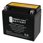 Mighty Max YTX12-BS 12V 10AH Battery for ATV Snowmobile Mowers PWC Watercraft