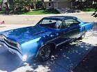 1968 Plymouth GTX  1968 Bright Blue (QQ1) Metallic GTX