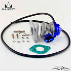Turbo FV RZ RS Blow Off Valve BOV + Flange Adapter For Skyline R32 R33 R34 BLUE