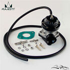 Turbo FV RZ RS Blow Off Valve BOV + Flange Adapter For Skyline R32 R33 R34 BK