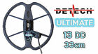 "Detech 13"" Ultimate DD Search Coil for Teknetics T2"