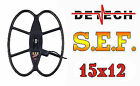 "Detech 15x12"" SEF Coil for Teknetics G2"