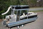 2016 -Funship-New triple tube  25 ft Vista Entertainer pontoon boat with slide-