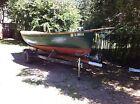 wooden sailboat crocker Dogwatch design