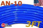 """AN-10 5/8"""" 16mm Push On Loc Fuel Hose Line Blue for Fuel Systems - Price for 3FT"""