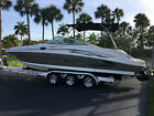 2006 Sea Ray 270 Sundeck 6.2 Mercruiser Serviced Detailed Covers Carpets Low Hrs