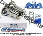Honda Civic Del Sol B16A A2 A3 Eagle H Beam Rods with Clevite Rod Bearings