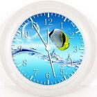 "Tropical Ocean Fish 10"" Wall Clock W35 Nice Gift or Room wall Decor NEW"