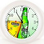 "Beer Wall Clock 10"" will be Nice Gift Or Room wall Decor X66"