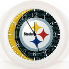 "Pittsburgh Steelers Wall Clock 10"" will be Nice Gift Or Room wall Decor X54"
