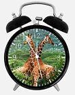 """Cute Giraffe Alarm Desk Clock 3.75"""" Room Office Decor E307 Nice For Gift"""