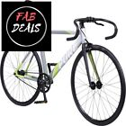 Pure Cycles Keirin Pro Ultra-Light Alloy Complete Track Bike, Cyril Green, 55cm