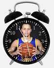 "Stephen Curry Alarm Desk Clock 3.75"" Home or Office Decor E483 Nice For Gift"