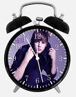 "Justin Bieber Alarm Desk Clock 3.75"" Room Office Decor W141 Nice For Gift"