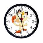 "Extra Large Size 14"" Pokemon Meow Wall Clock Home or Oiifce Decor Nice Gift E03"